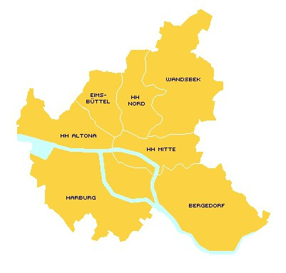 Nachhilfe Bezirke Hamburg